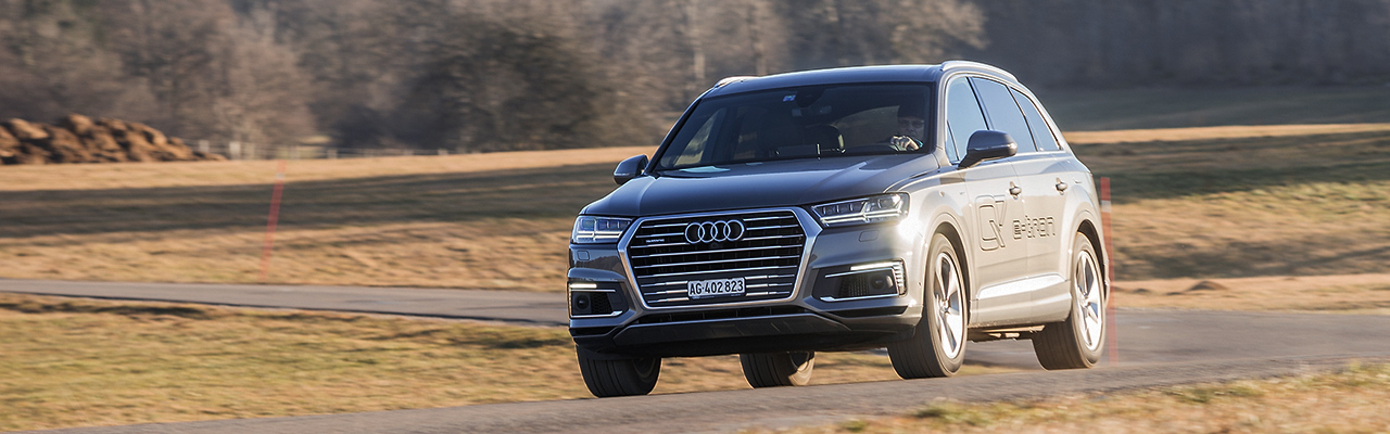 Essai – Audi Q7 e-tron Quattro : Espace XL pour conso verte