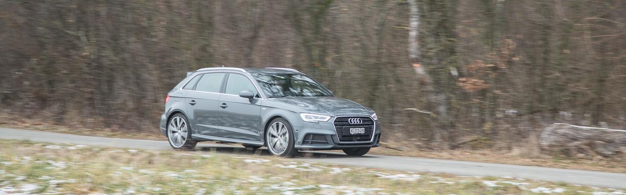 Essai – Audi A3 Sportback 2.0 TFSI : Technik über alles
