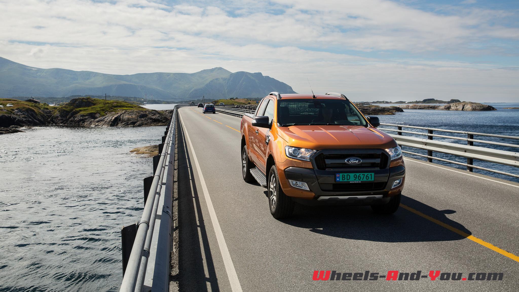 Premier Contact Ford Ranger Un Pick Up Alliant Confort Et