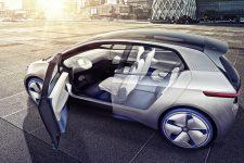 Volkswagen Showcar I.D. I.D. ? die Revolution. Der erste Volkswagen auf der vˆllig neuen Elektrofahrzeug-Plattform. Der erste Volkswagen, der f¸r das automatisierte Fahren vorbereitet ist.