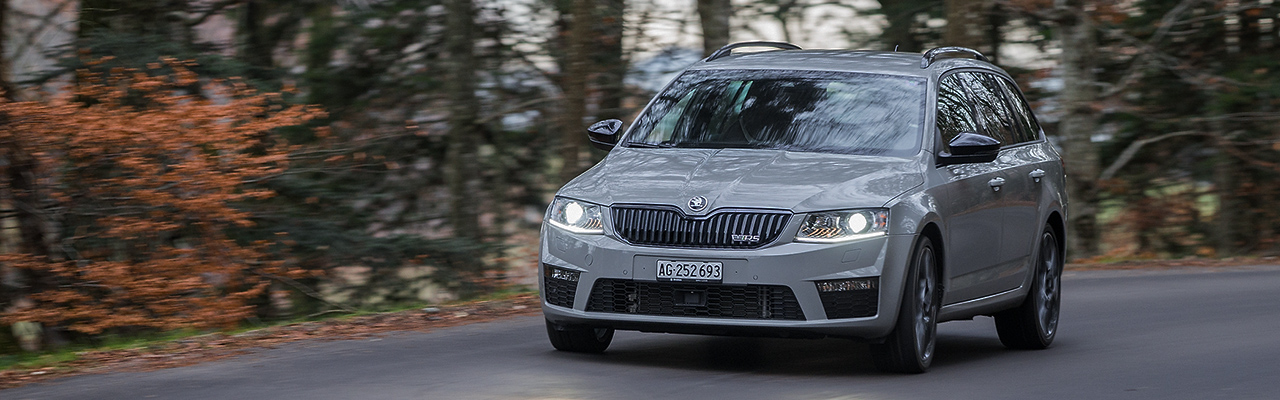 Essai – Skoda Octavia RS 2.0 TDI 4×4 Combi : La success story continue !