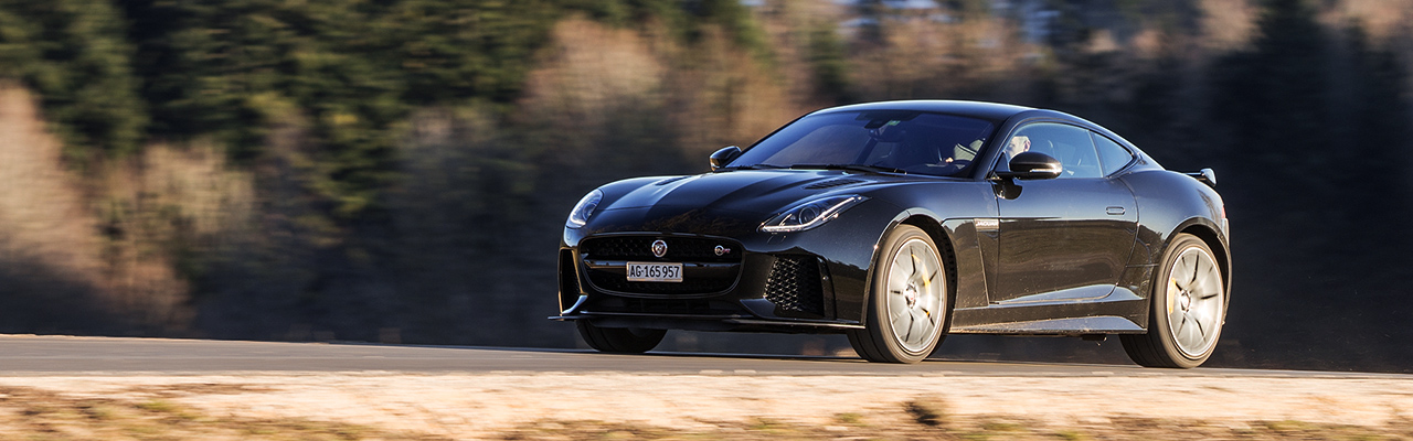 Essai – Jaguar F-Type SVR Coupé : Le dragster accessible !