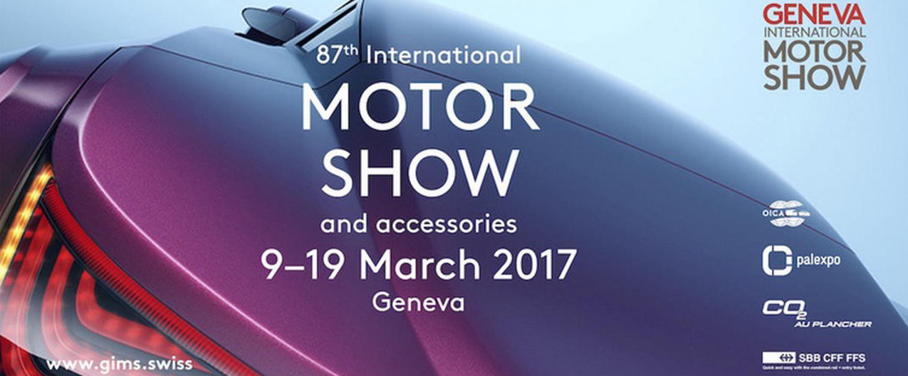 Événement – Geneva International Motor Show 2017