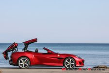 premier contact ferrari portofino le grand tourisme tr s sportif wheels and. Black Bedroom Furniture Sets. Home Design Ideas