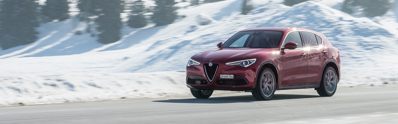 Essai – Alfa Romeo Stelvio Q4 : SUV comme Sculptural Utility Vehicle