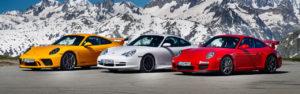 Evènement – Vingt ans de Porsche 911 GT3 !