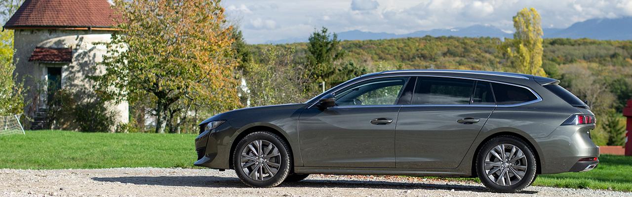 Essai – Peugeot 508 SW BlueHDi 130 EAT8 : L'anti SUV a de beaux restes