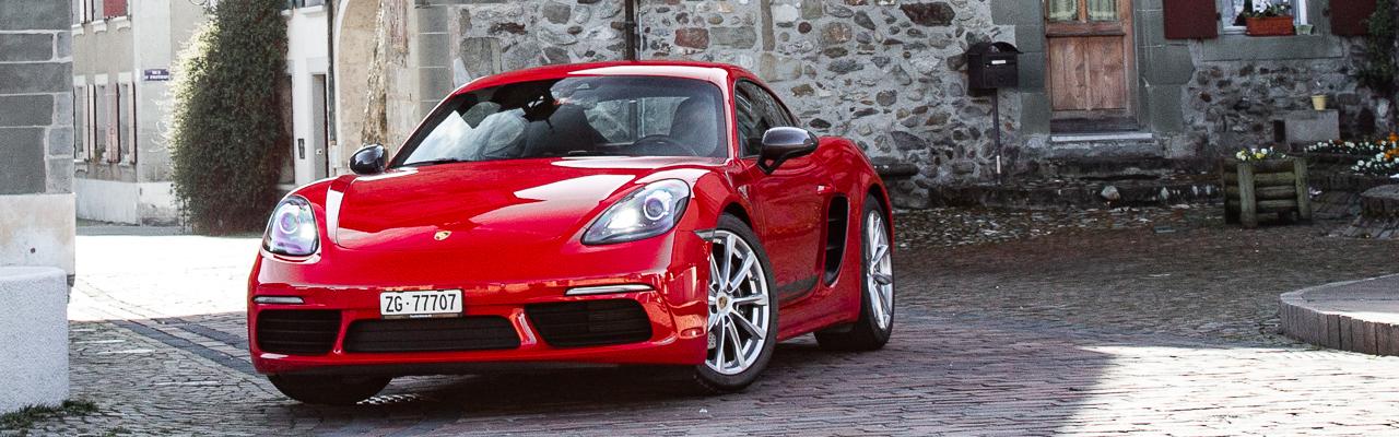Essai – Porsche 718 Cayman T : T time…