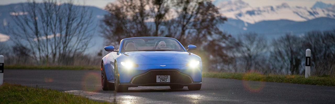 Essai – Aston Martin Vantage Roadster : Sportivité, performance et cheveux au vent, le cocktail du plaisir de conduite !