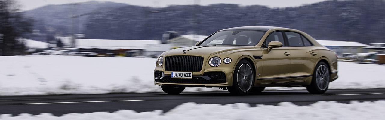 Essai – Bentley Flying Spur V8 : Le « petit » salon sur roues