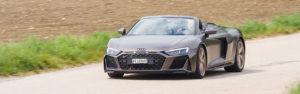 Essai – Audi R8 Spyder V10 RWD : Elle a presque tout d'une supercar…