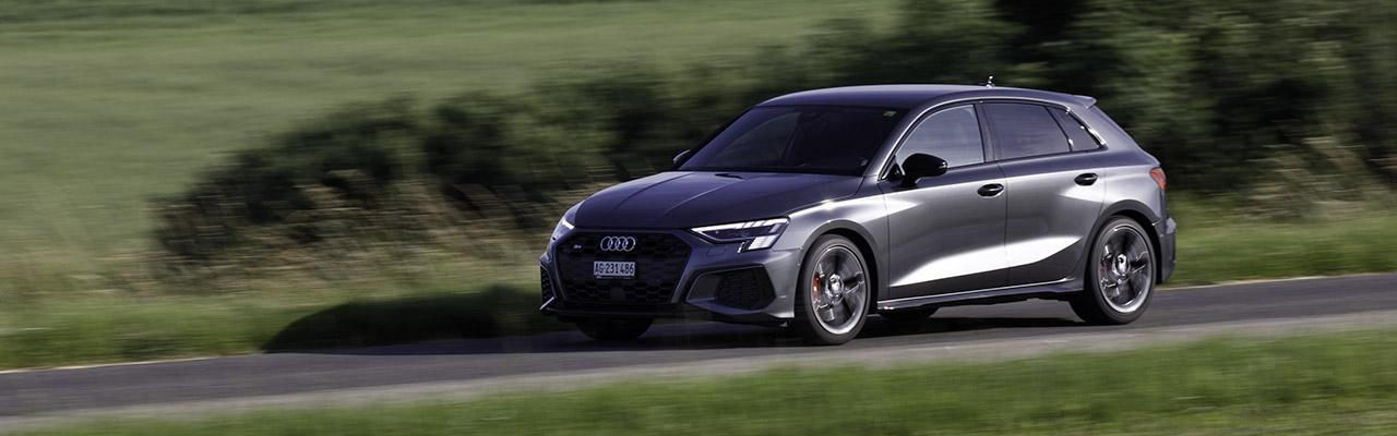 Essai – Audi S3 Sportback : Une compacte de cinq places survitaminée