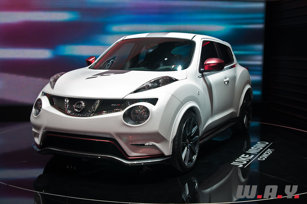 gen ve 2012 nissan juke nismo concept wheels and. Black Bedroom Furniture Sets. Home Design Ideas